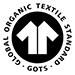 100% zertifizierte organische Baumwolle.
